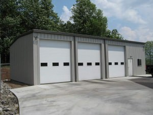 Pre engineered metal garages champion buildings for Pre engineered garage