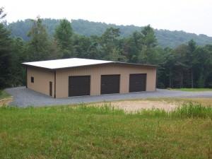 Steel Building Garage Shop