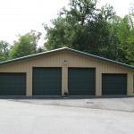 4 Door Metal Building
