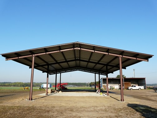 Farm Equipment Shelters : West virginia agricultural shelters uses farm