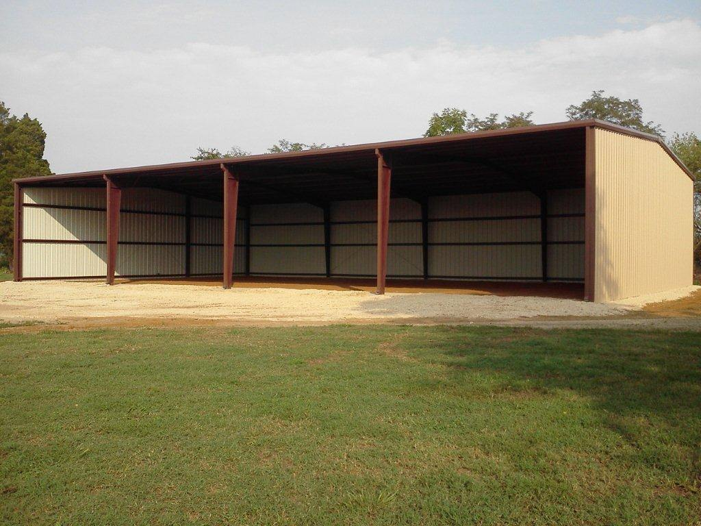 steel metal building by Champion Buildings