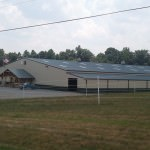 steel building indoor riding arena
