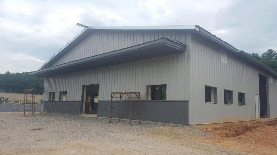 Leesburg VA Prefabricated Steel Metal Building