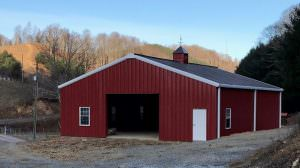 Pre-engineered metal and steel barns