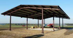 Metal Agricultural Shelter