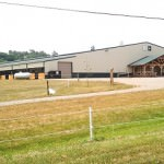 metal pre fabricated equestrian indoor riding arena