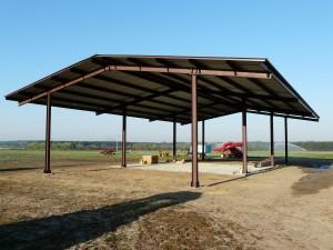 steel shelter construction Georgia