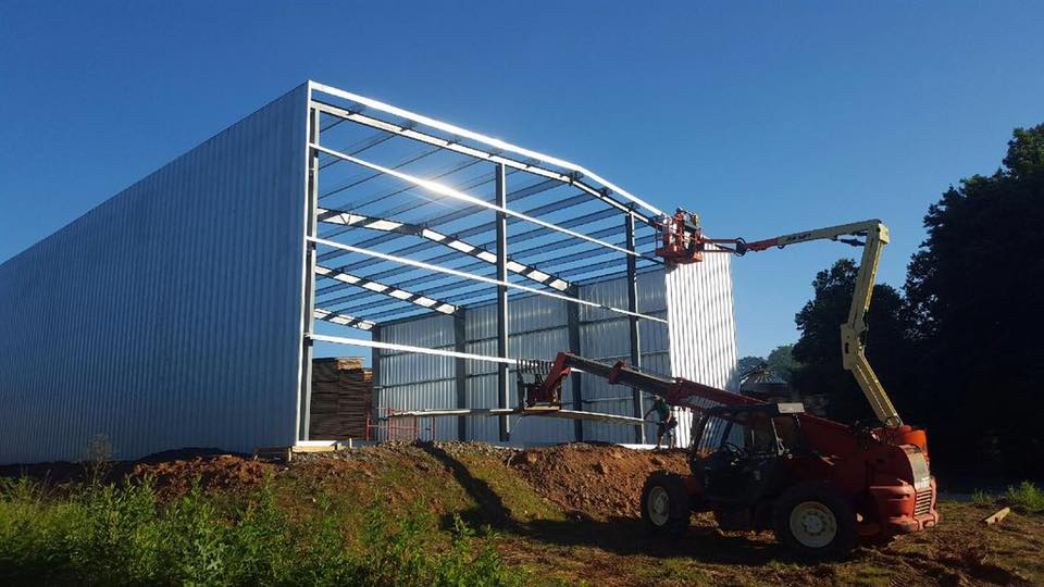 Augusta GA Metal Building Construction