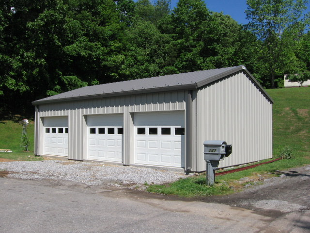 Steel metal building company southeast usa champion for Pre engineered garage