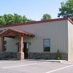 Commercial metal retail store