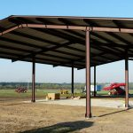 Prefabricated metal shelter