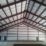 Steel Frame Building Interior