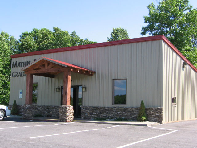 Prefabricated steel building retail store