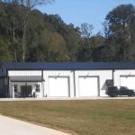 Commercial Prefabricated Metal Buildings Garage
