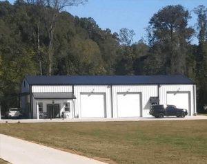Commercial Prefabricated Metal Buildings Garage