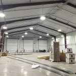Prefabricated Metal Buildings large garage hanger